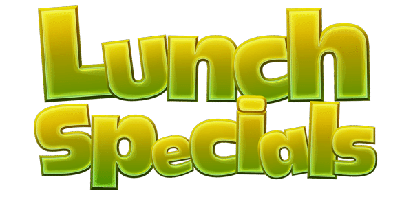 Lunch specials bufalucca for Lunch specials