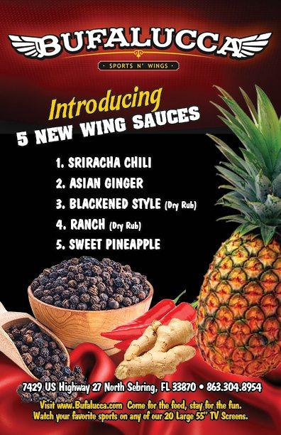 Bufalucca New Sauces