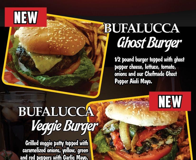 New Bufalucca Burgers