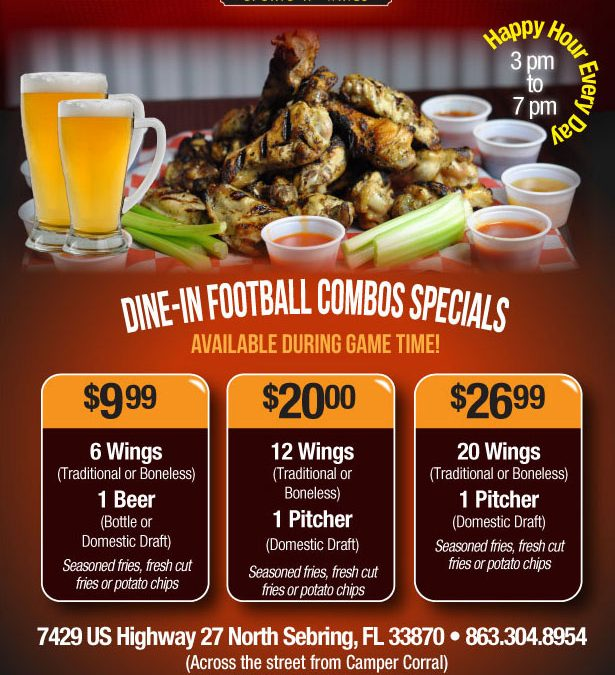 Combo Game Time Specials